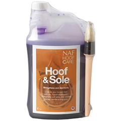 Preparat do kopyt NAF Hoof&Sole 1000ml