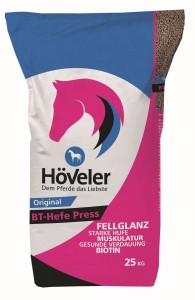 Pasza HOVELER Original BT-Hefe Press 8kg granulat