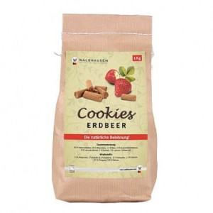 Przysmak dla koni WALDHAUSEN Cookies strawberry1kg
