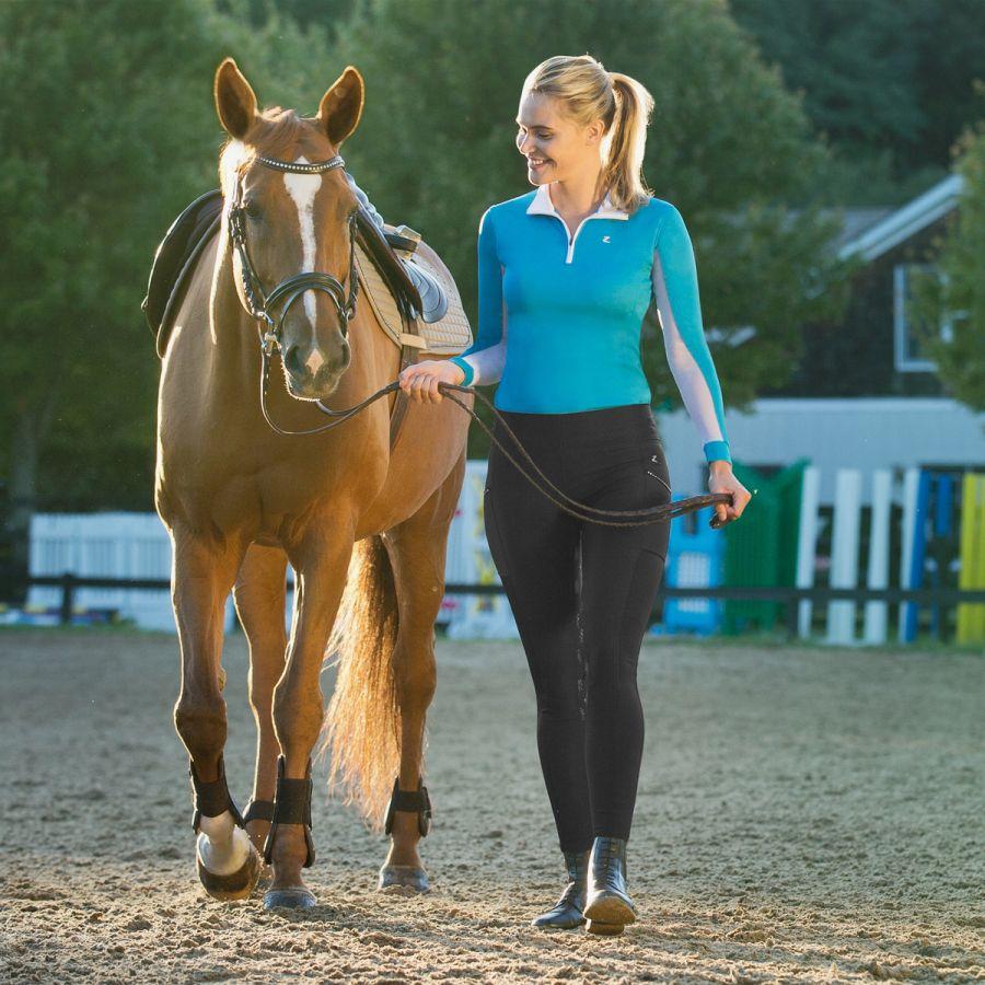 ac3a20956eea6 Legginsy HORZE Leah UV Pro Horse-Trade   Sklep jeździecki